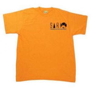 T-shirt Sari Pomarańczowy