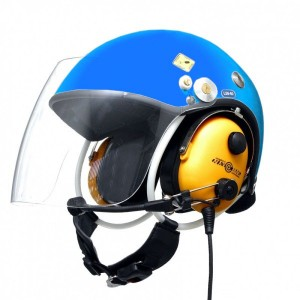 Kask PPG NG-100 Niebieski z łącznością Navcomm
