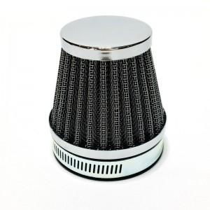 Filtr powietrza - chrom 60mm