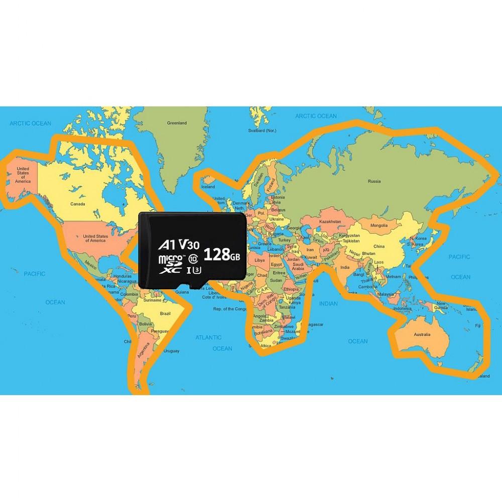 Karta SD 128 Gb (mapy drogowe świat) Air³ - akcesoria Air³ 7.2