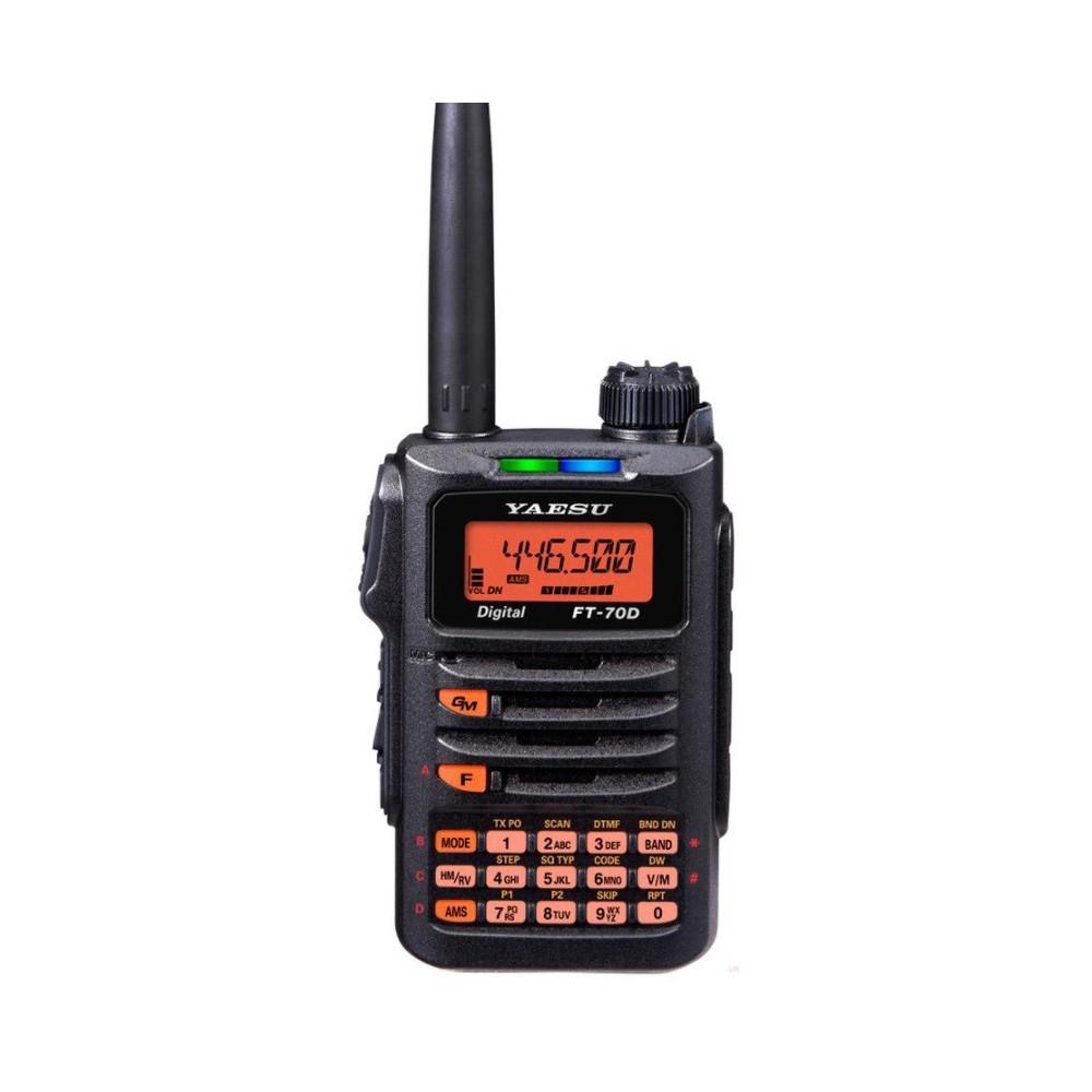 Yaesu FT-70DE - dwupasmowy radiotelefon cyfrowo/analogowy