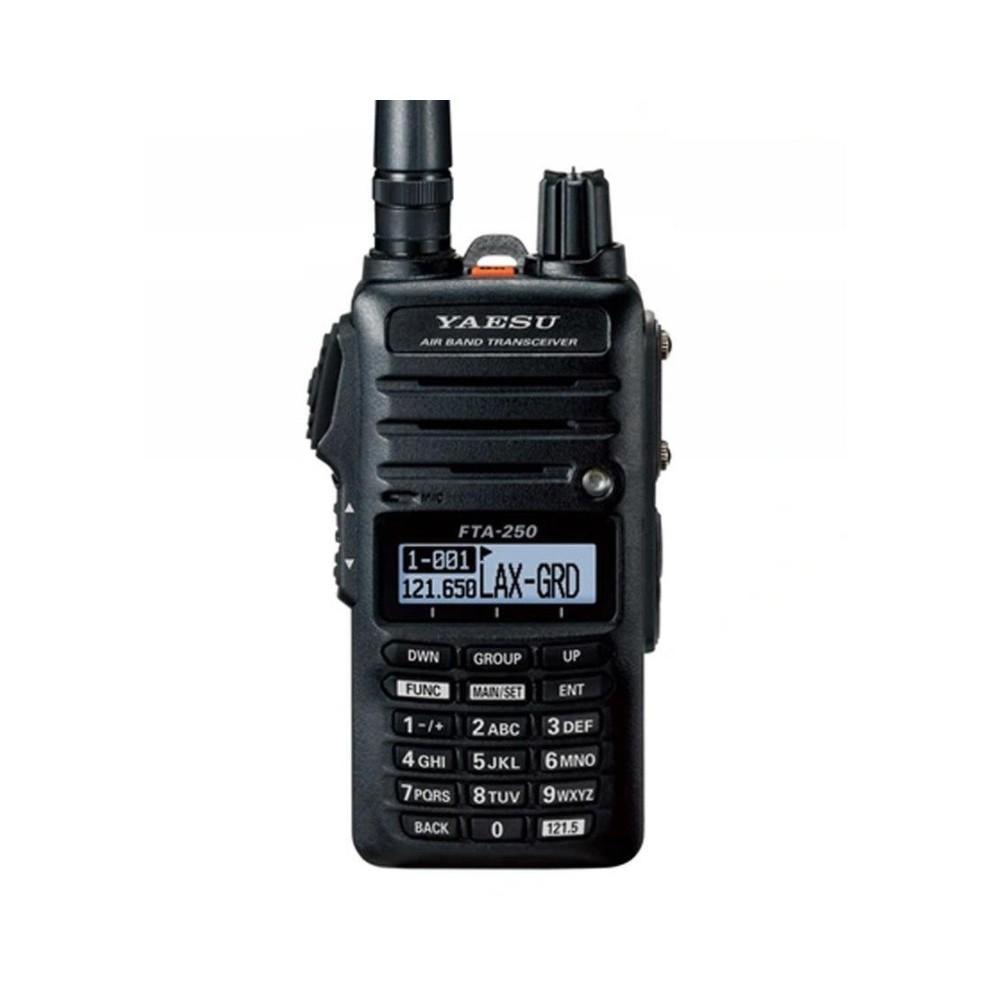 Yaesu FTA-250L - ręczny radiotelefon na pasmo lotnicze