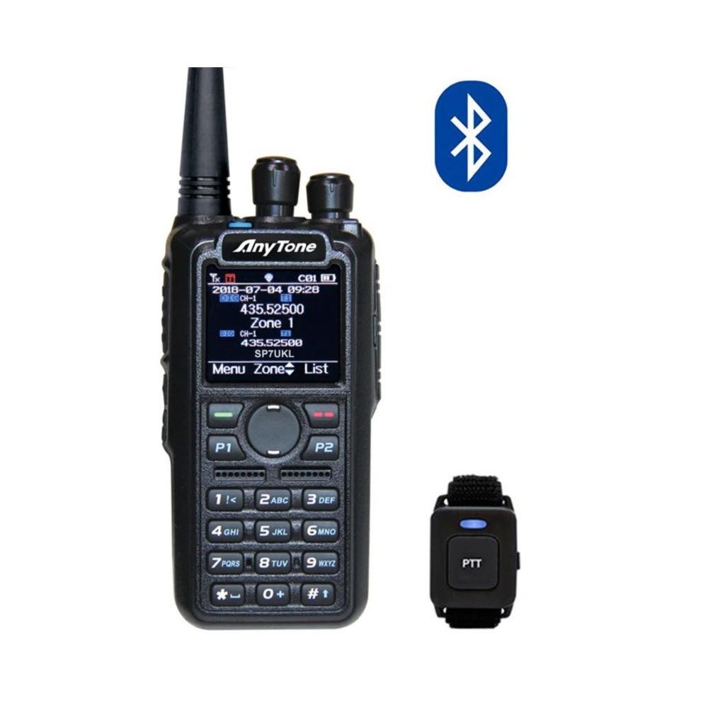 AnyTone AT-D878UV Plus z BlueTooth DMR + UHF/VHF