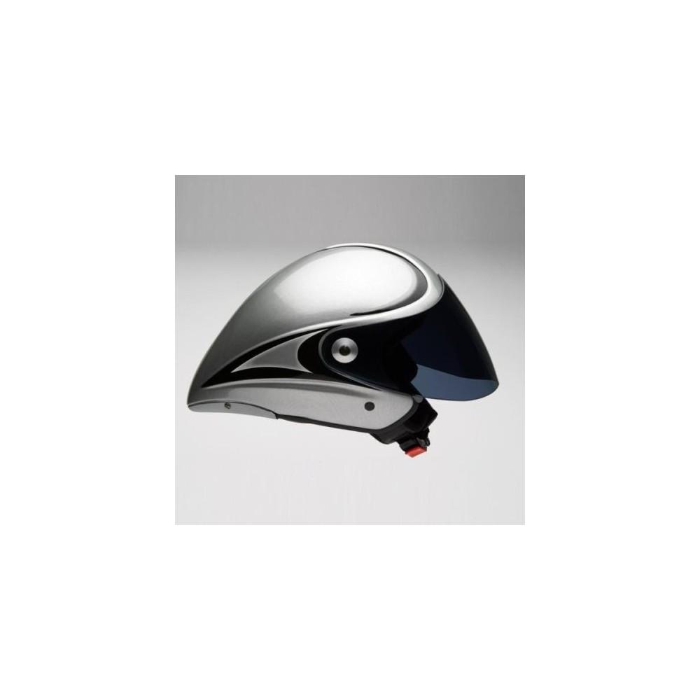 4fight LT Jet Dark Silver Wizjer barwiony lub przezroczysty
