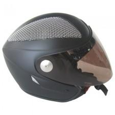 4fight Grid Cut Jet Black Velvet z visor barwiony lub przezroczysty  Wizjer lustro w zamian za standard