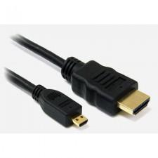 Przewód HDMI - mHDMI 1,5m