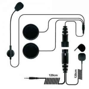 Zestaw słuchawkowy do kasku otwartego, wersja dla urządzeń mobilnych