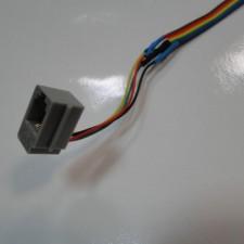Zestaw słuchawkowy z przyciskiem do kasku zamkniętym