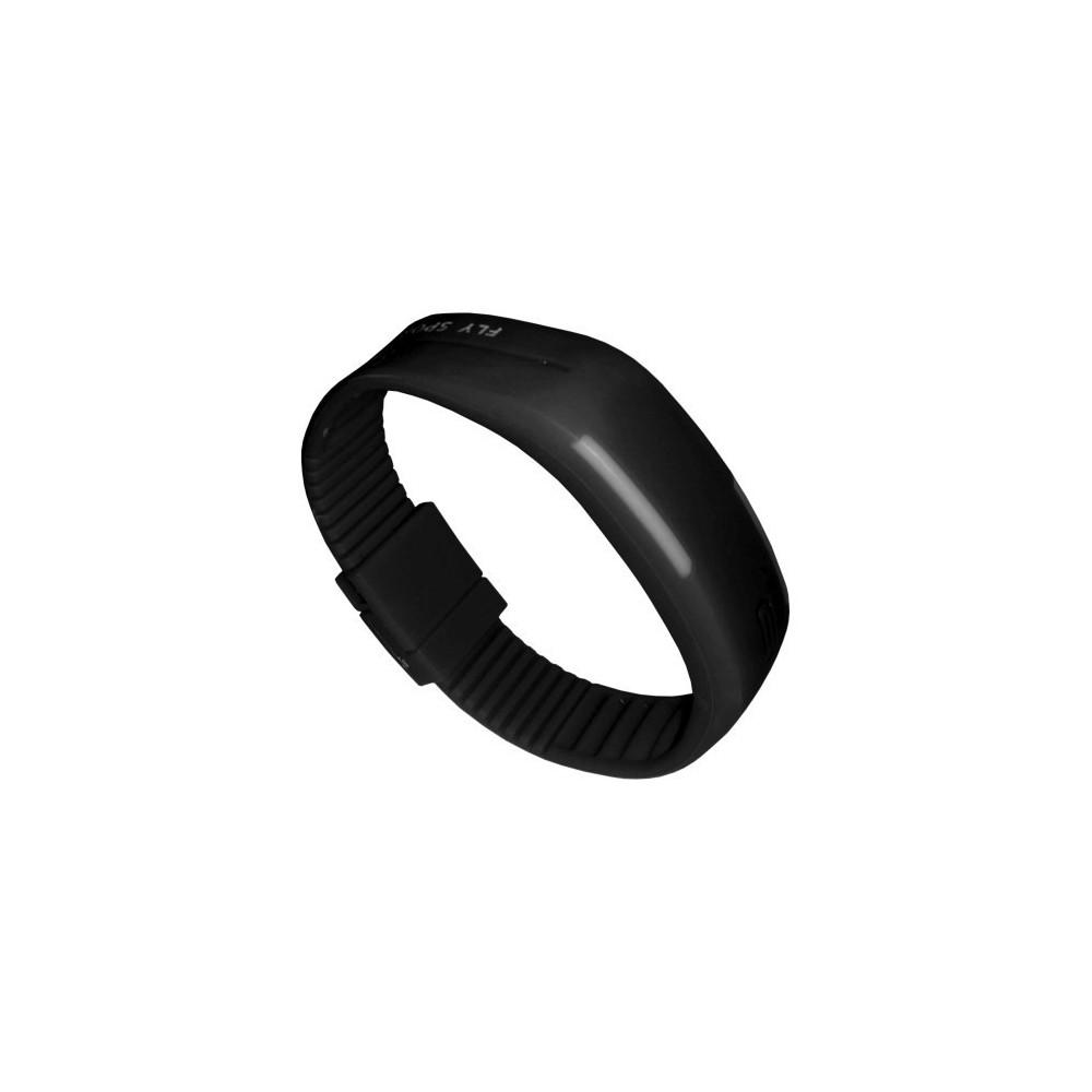 Zegarek silikonowy Sari - Czarny