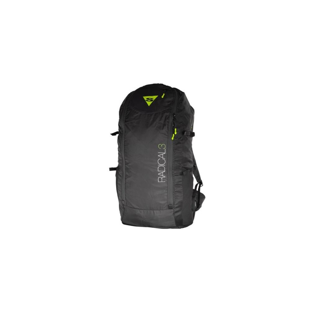 Reversible backpack airbag