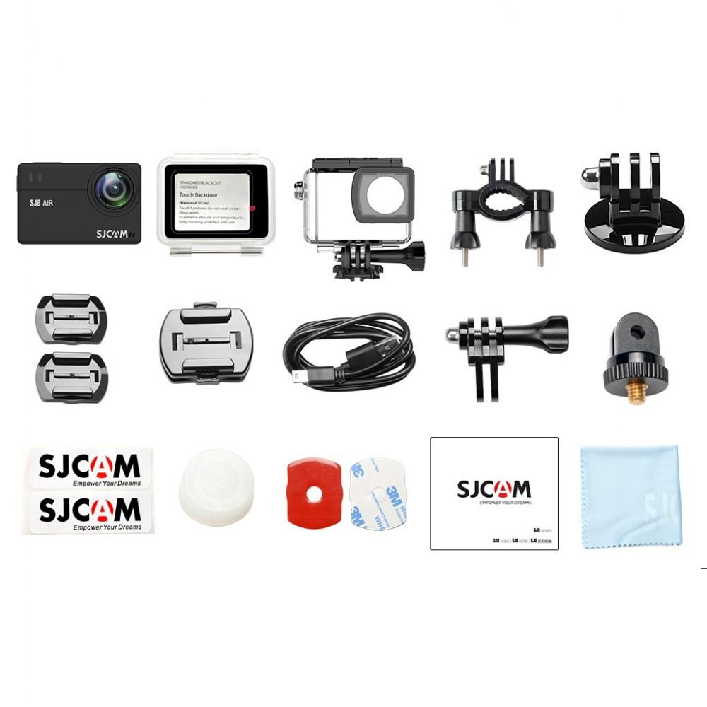 SJCam SJ8 Pro - zestaw