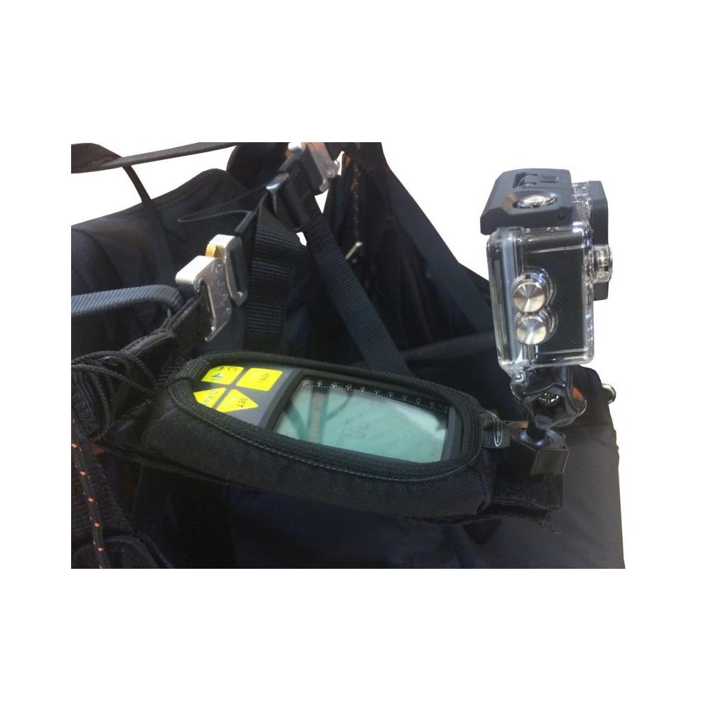Wysięgnik na GPS/Vario Light SARI z uchwytem na Kamerę/Aparat
