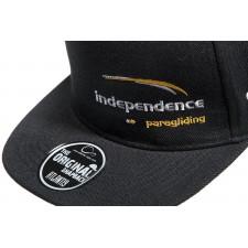 Czapka bejsbolówka czarna - Independence