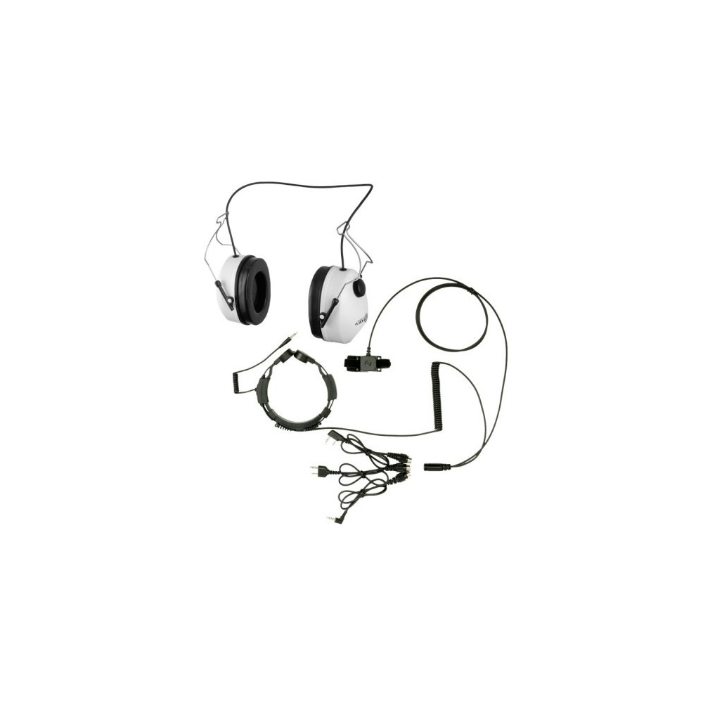 Słuchawki do kasku z laryngofonem (NC100LGF22)