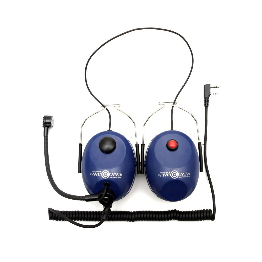 Słuchawki do kasku - Niebieskie (NC-100H)