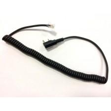 Kabel do zestawów słuchawkowy z wtykiem RJ