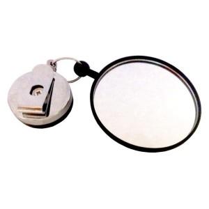 Zestaw zwijarka stalowa + lusterko szkło 60mm