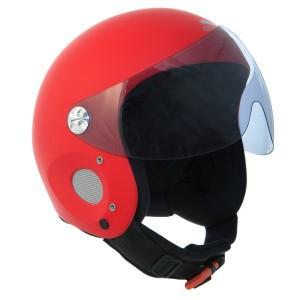Kask Charly Ace - czerwony